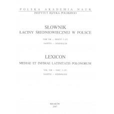 Słownik łaciny średniowiecznej w Polsce, t. VIII, z.5 (67)