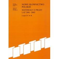 Nowe słownictwo polskie 2001-2005, cz. IV: N-R