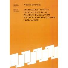 Wiesław Morawski, Angielskie elementy leksykalne