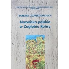 Barbara Czopek-Kopciuch, Nazwiska polskie w Zagłębiu Ruhry