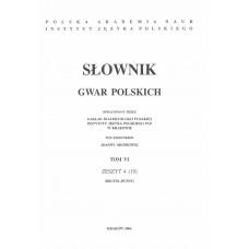 Słownik gwar polskich, t. 6, z. 4 (19)
