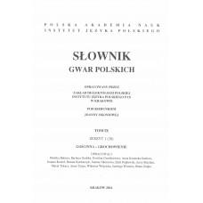 Słownik gwar polskich, t. 9, z. 1 (28)