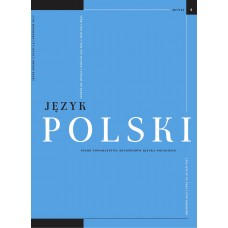 Język Polski. Rocznik XCVII zeszyt 4