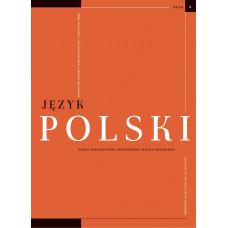 Język Polski. Rocznik XCIX zeszyt 4