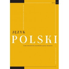 Język Polski. Rocznik XCVI zeszyt 1