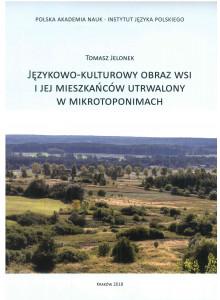 Tomasz Jelonek, Językowo-kulturowy obraz wsi i jej mieszkańców