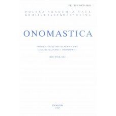 Onomastica XLII