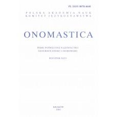 Onomastica XLVI
