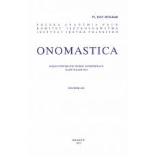 Onomastica LIX