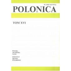 Polonica t. XVI
