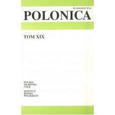 Polonica t. XIX