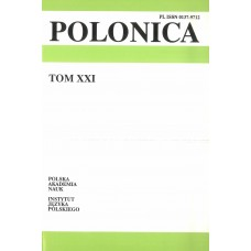 Polonica t. XXI