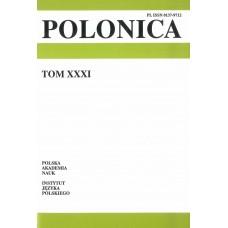 Polonica t. XXXI