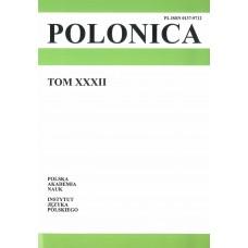 Polonica t. XXXII