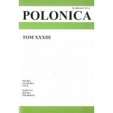 Polonica t. XXXIII