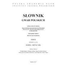 Słownik gwar polskich, t.9, z.4 (31)