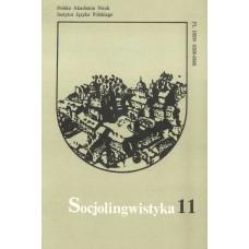 Socjolingwistyka 11