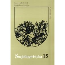 Socjolingwistyka 15