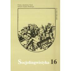Socjolingwistyka 16