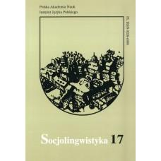 Socjolingwistyka 17