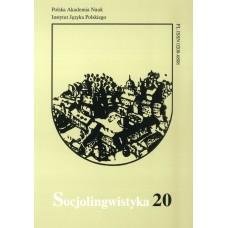 Socjolingwistyka 20