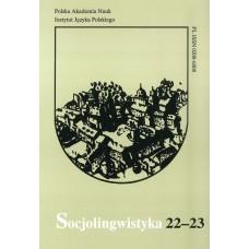Socjolingwistyka 22-23