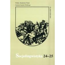 Socjolingwistyka 24-25
