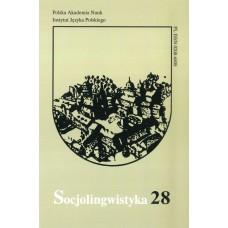 Socjolingwistyka 28