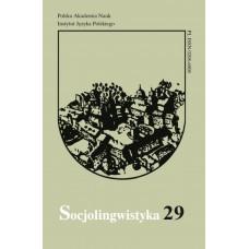 Socjolingwistyka 29