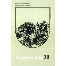 Socjolingwistyka 30