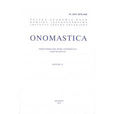 Onomastica LX