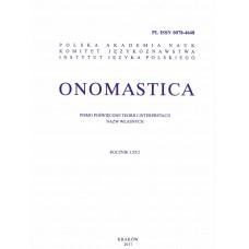 Onomastica LXI/2