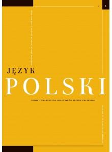 Język Polski. Rocznik C zeszyt 3