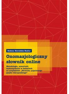 Bożena Sieradzka-Baziur, Onomazjologiczny słownik online