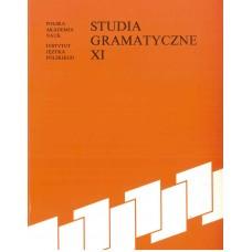 Studia gramatyczne XI