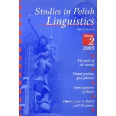 Studies in Polish Linguistics, vol. II
