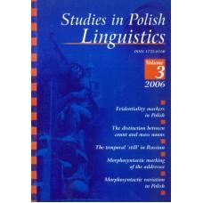 Studies in Polish Linguistics, vol. III