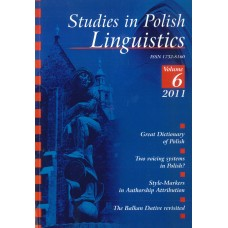 Studies in Polish Linguistics, vol. VI