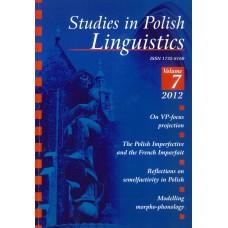 Studies in Polish Linguistics, vol. VII