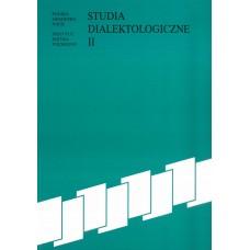 Studia dialektologiczne II