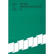 Studia dialektologiczne IV