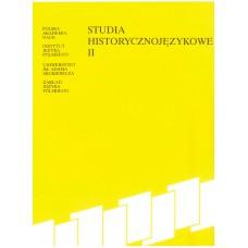 Studia historycznojęzykowe II