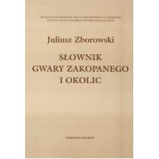 Juliusz Zborowski, Słownik gwary Zakopanego i okolic